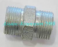 Штуцер соединительный S22-22 (М18х1,5 - М18х1,5)