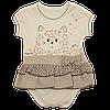 Детское боди с имитацией юбочки BEBEMANIA 74р. BM 8452