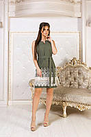 Женское летнее короткое платье