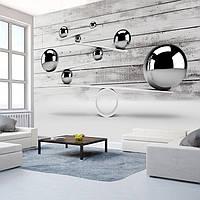 Глянцевые 3D фотообои в спальню