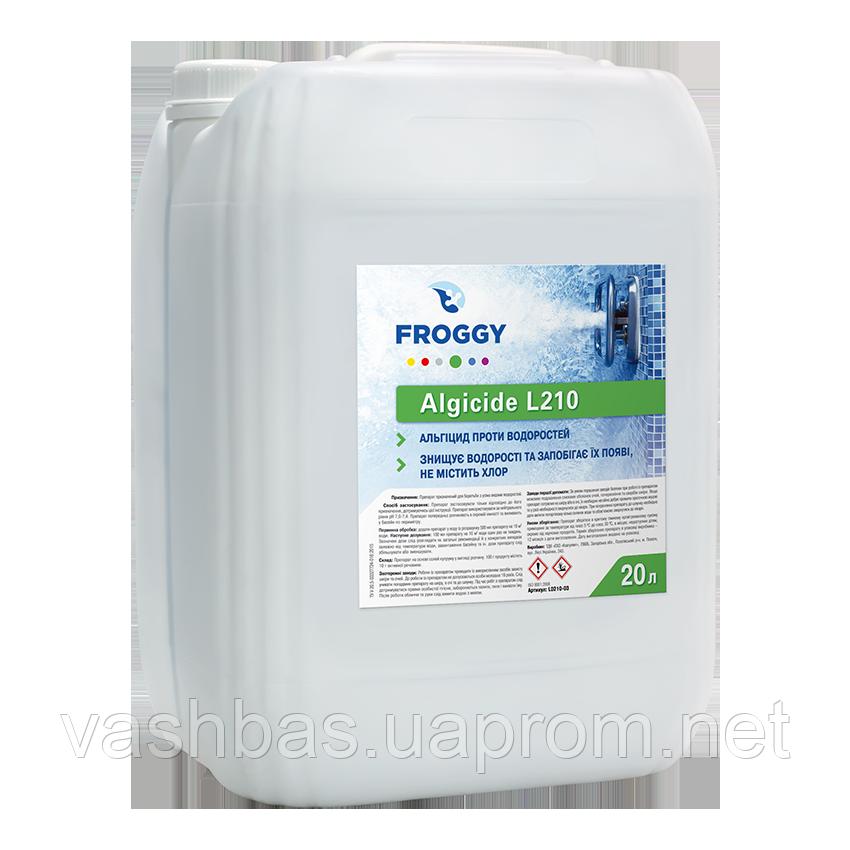 Algicid L210, 20 л средство против водорослей. Химия для бассейна FROGGY™