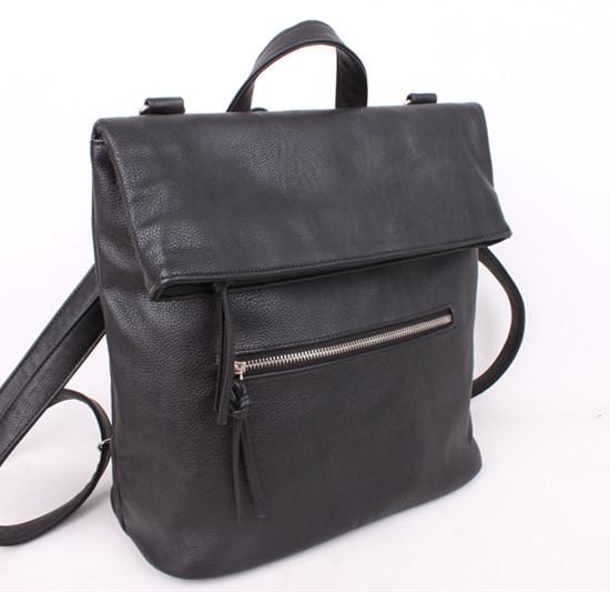 Женская сумка-рюкзак из кожзама