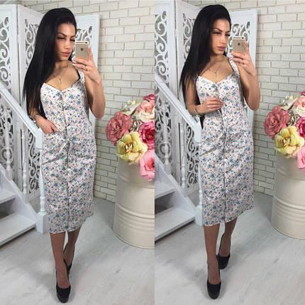 Модный летний сарафан-платье, фото 2