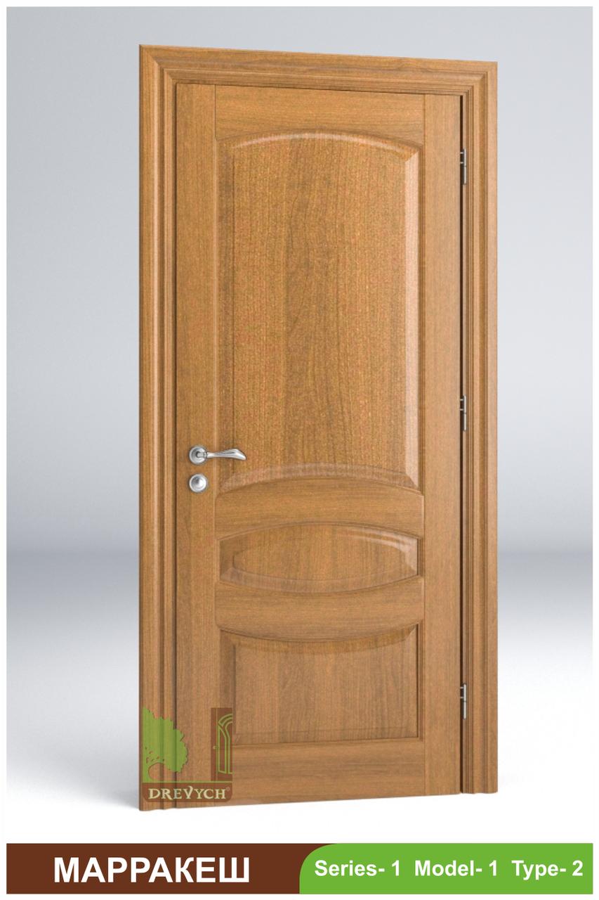 Двері міжкімнатні з масиву Маракеш