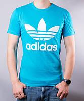 Мужская котоновая футболка SM97 (р-р 46-52) оптом со склада в Одессе
