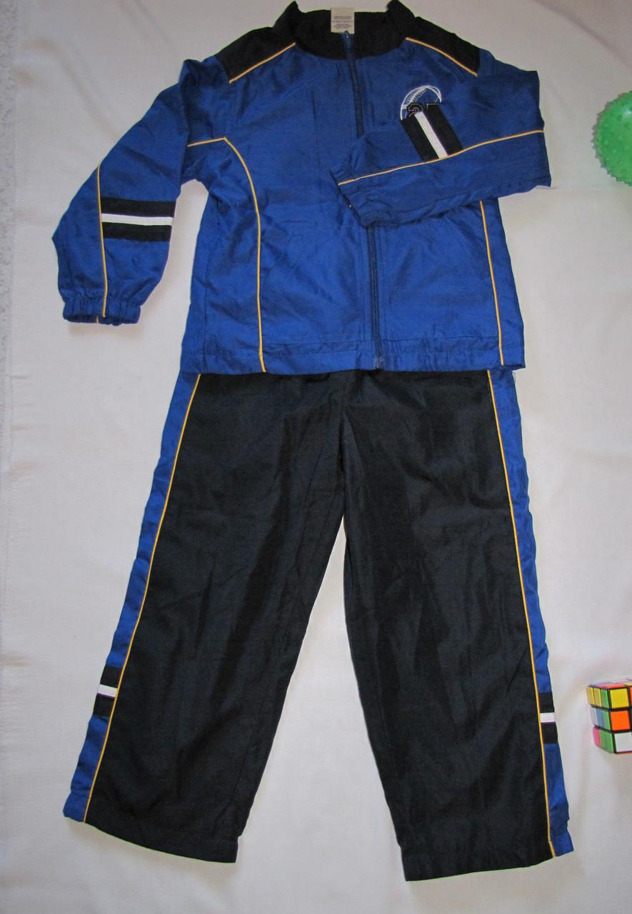 Спортивный  костюм Faded Glory рост 110 см синий+черный 07133