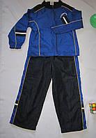 Спортивный  костюм Faded Glory рост 110 см синий+черный 07133, фото 1