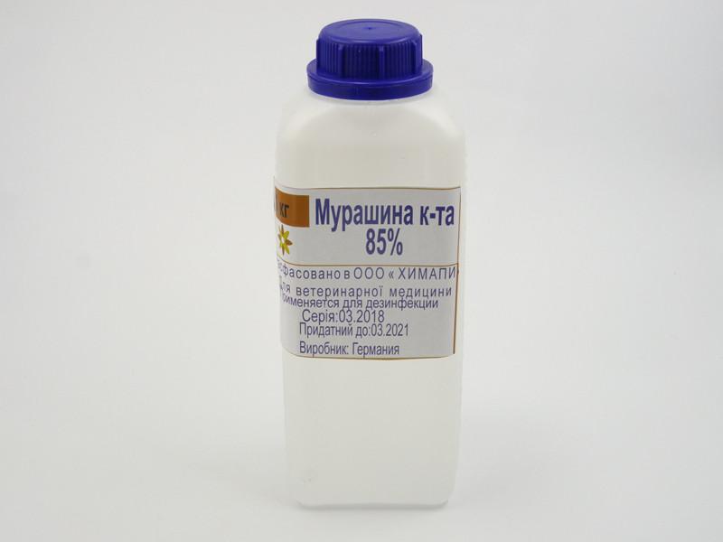 Муравьиная кислота 85%, 1кг, Германия