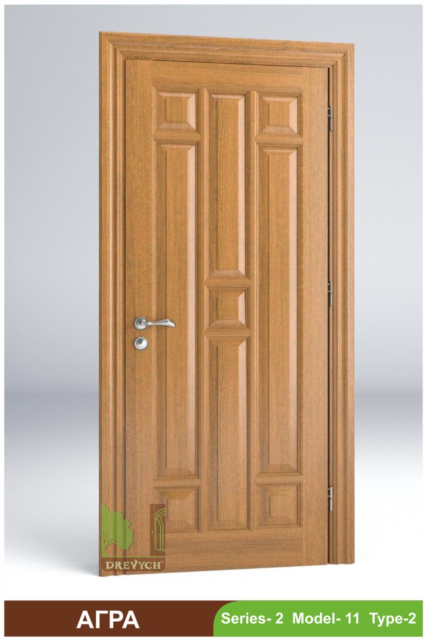 Двері міжкімнатні з масиву Агра