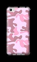 Чехол для Xiaomi Mi5 Розовый камуфляж опт/розница