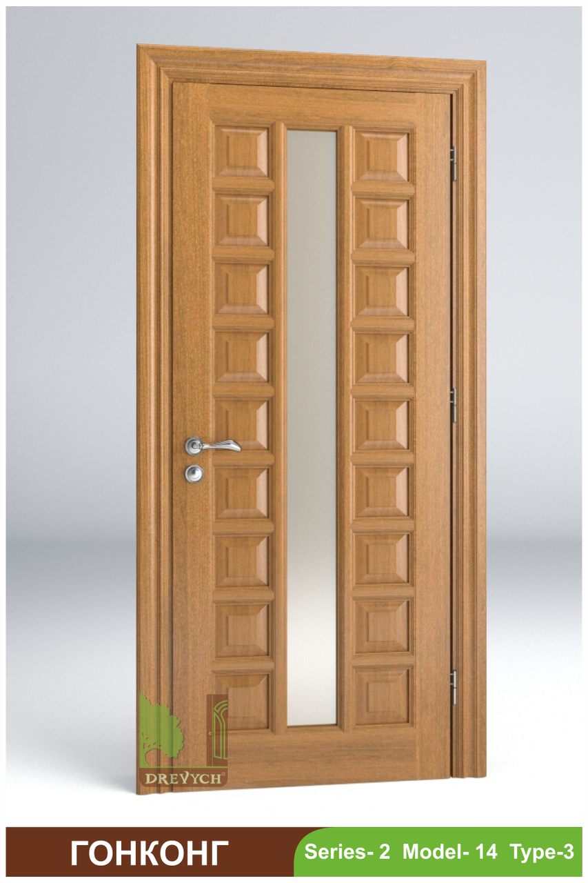 Двері міжкімнатні з масиву Гоконг