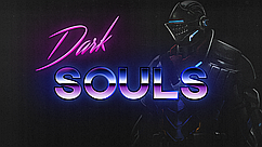Картина 60х40см Dark Souls Purple Moon