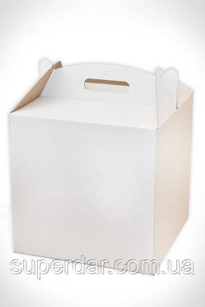 НОВИНКА! Коробка для торта в размере 300*300*300 мм.!