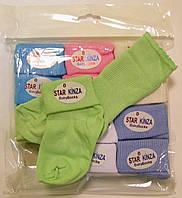 Носки хлопковые для новорожденных от первых дней жизни