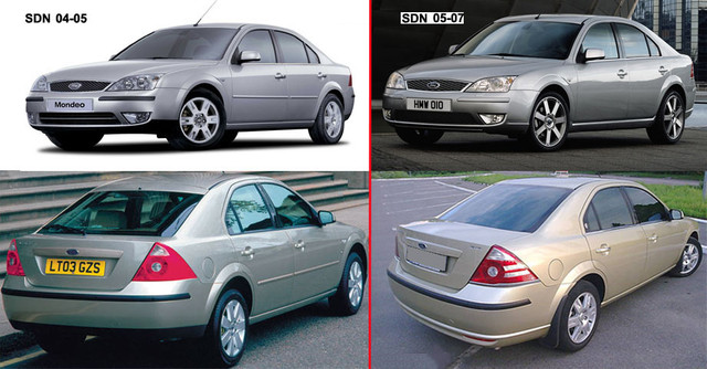 FORD MONDEO 04-07