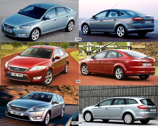 FORD MONDEO 07-10