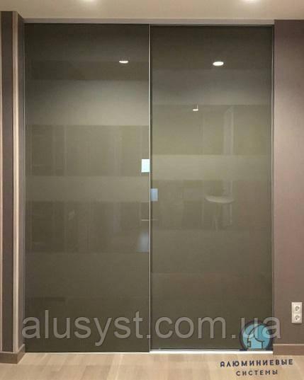 Собранные фасады для шкафов-купе с наполнением