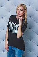 Женская футболка темно-серая Paris, фото 1