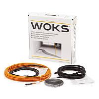 Теплый пол в стяжку | Двухжильный кабель Woks-17 395 Вт (2,4…3,0 кв.м)