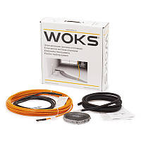 Woks-17 990 Вт (6,1-7,6 м2) теплый пол в стяжку двухжильный
