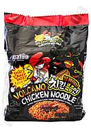 Лапша быстрого приготовления очень острая с курицей Volcano Chicken Paldo 140 г