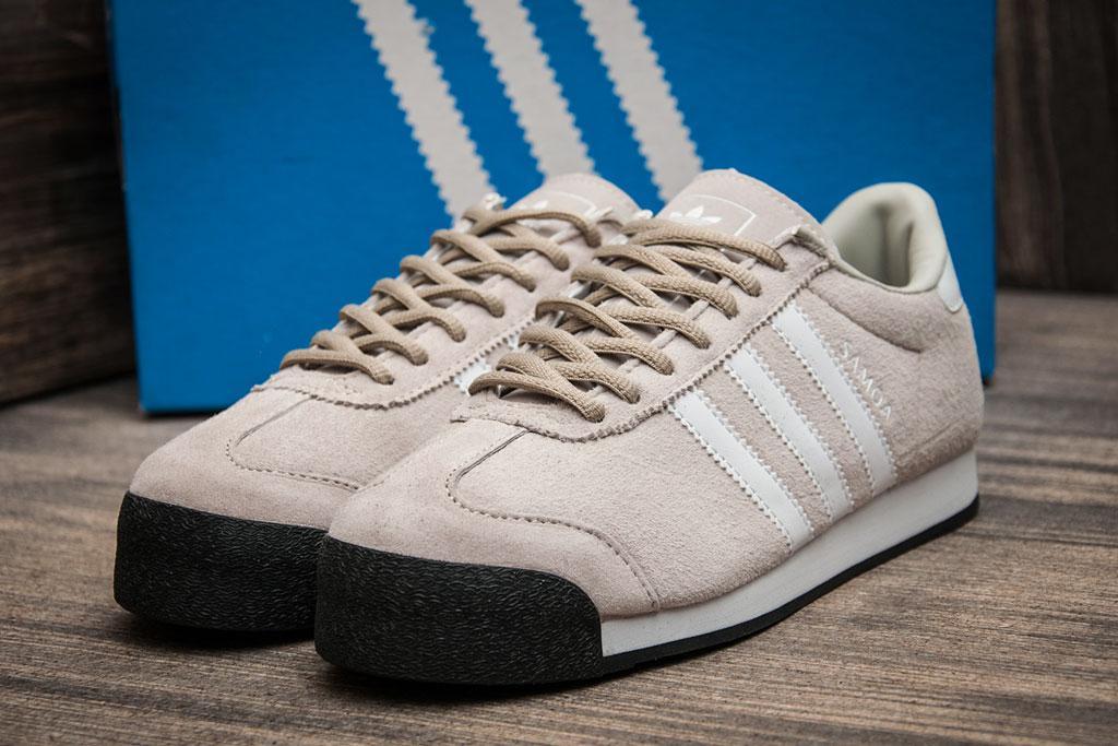 Кроссовки мужские Adidas Samoa, бежевые (1076),  [   42  ]