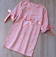 Дитяча сукня р. 134 Олівія рожеве мереживну