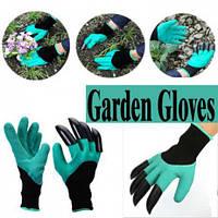 ЛУЧШАЯ ЦЕНА! Садовые перчатки с КОГТЯМИ для сада. Garden Genie Gloves