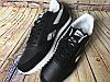 Кроссовки Reebok CL Leather Ripple Low Black White Черные мужские, фото 2