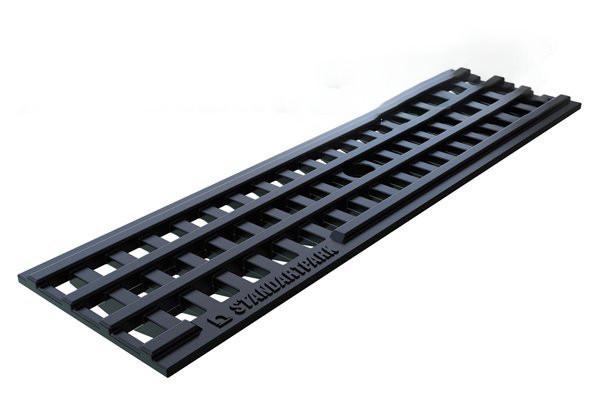 Решетка водоприемная PolyMax Basic  пластиковая ячеистая (208019)