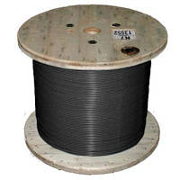Отрезной одножильный кабель для снеготаяния Nexans TXLP BLACK (DRUM) 1 Ом/м