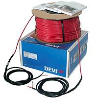 Одножильный нагревательный кабель для теплого пола в стяжку   DEVIbasic 20S 2640 Вт (13,1...16,4 кв.м)