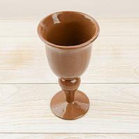 """Шоколадная фигура """"Фужер"""" ЭЛИТНОЕ сырье. Размер: 81х81х165мм, вес 190г, фото 1"""