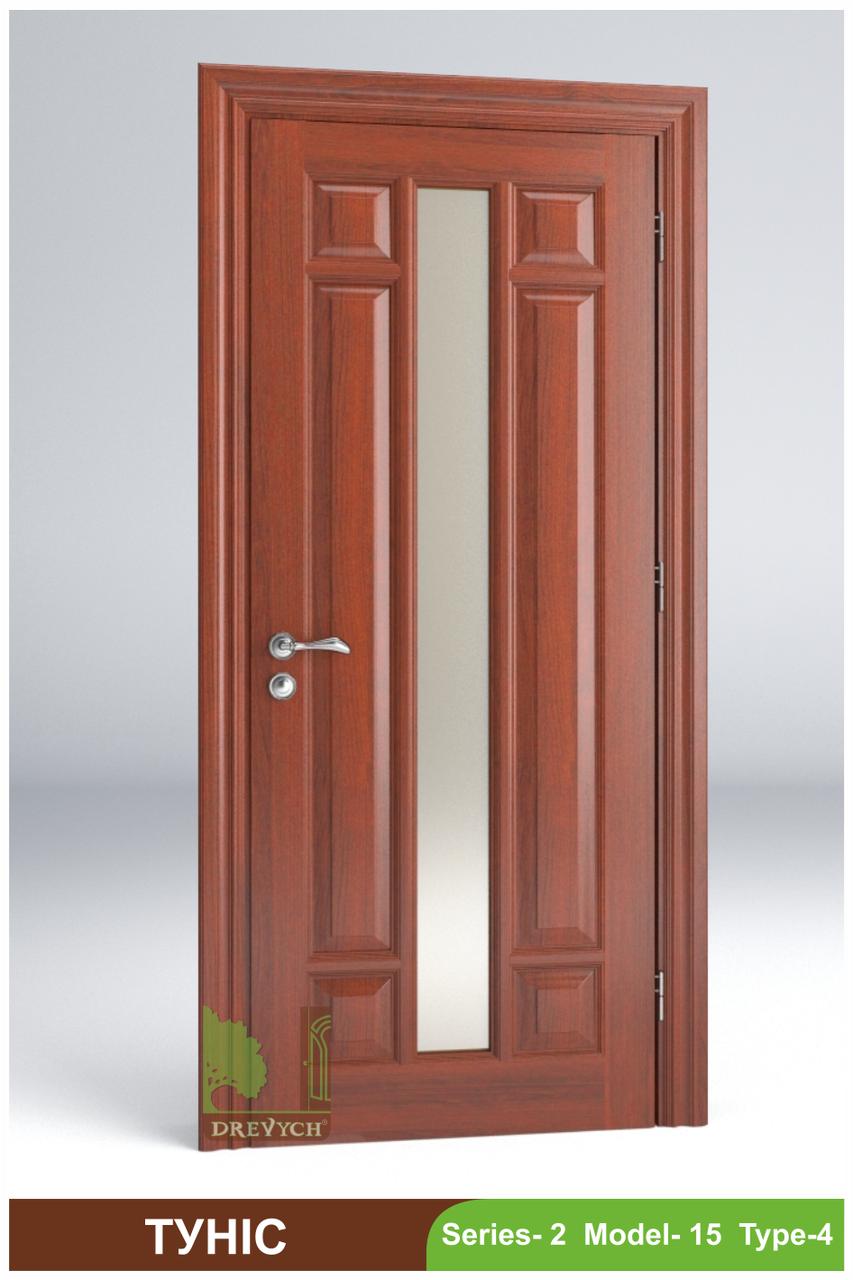 Двері міжкімнатні з масиву Туніс