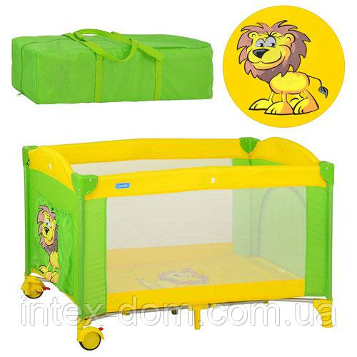 Детский манеж-кровать Вамbі М 2240