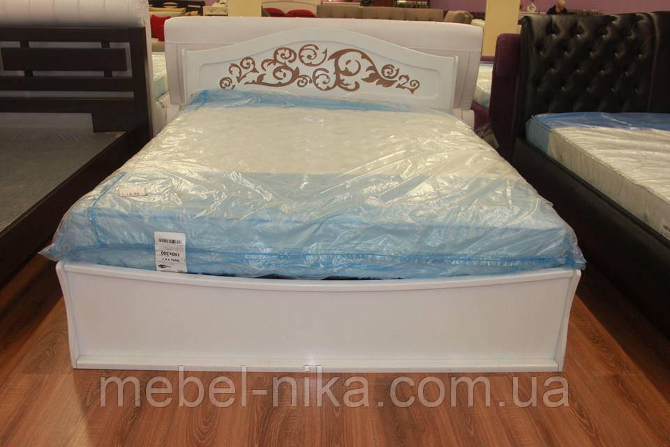 Кровать белая Лира 1,6 Распродажа