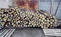 Столб деревянный (Подтоварник)