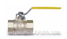 Кран шаровый газовый с внутренней резьбой Ду15