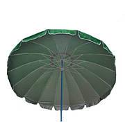 Зонт пляжный, круглый, 16 спиц