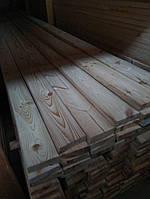 Террасная доска, палубная доска 45х110(130,140) мм Сосна, фото 1
