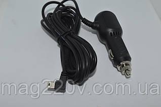 Автомобильное зарядное устройство 2 USB + мини USB