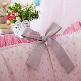 Детский постельный комплект на овальную кроватку Маленькая Соня Lucky Star 6 и 7 элементов, фото 5