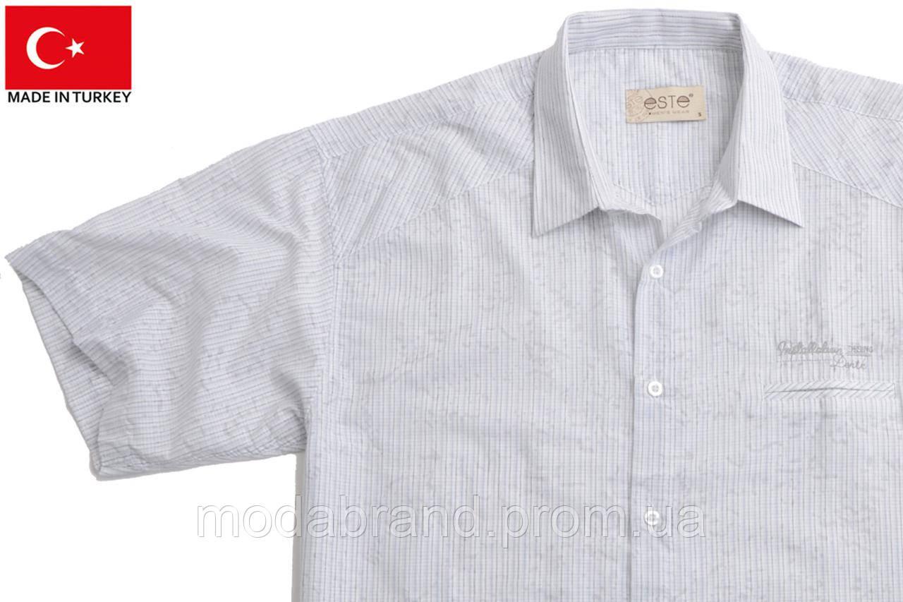 1a4b5cc7fcf95e5 Летняя мужская рубашка короткий рукав на жаркую погоду. -