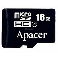 Карта памяти Apacer microSDHC Class4 16GB w/o Adapter RP (AP16GMCSH4-RA)