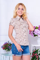 Блуза  летняя с коротким рукавом, фото 1