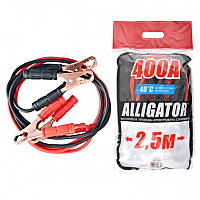 Провода прикуривателя CarLife Alligator 400A BC641