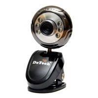 WEB камера DeTech FM180 0,3 Mpix