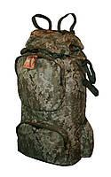 Туристический экпедиционный большой крепкий рюкзак на 90 литров пиксель, фото 1