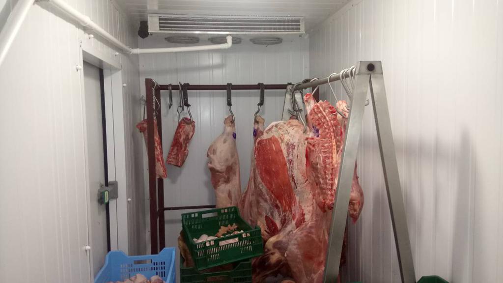Камера для хранения мяса