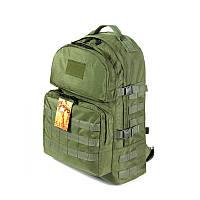Тактический походный крепкий рюкзак 40 литров олива